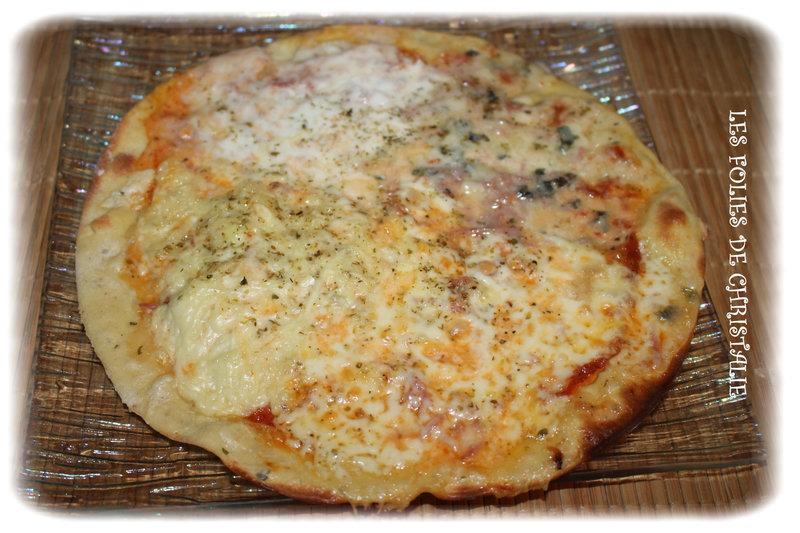 Pizza roquefort raclette 4