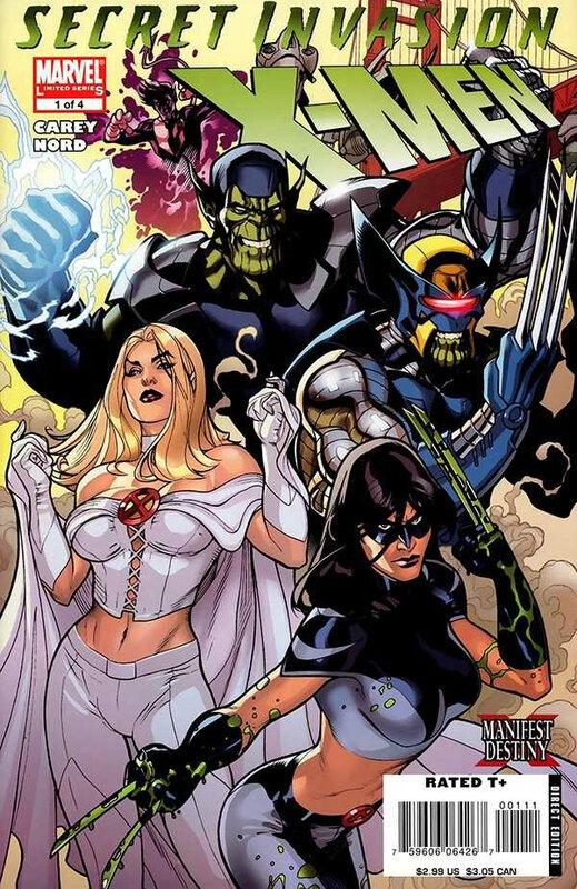 secret invasion x-men 01