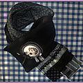 commande echarpe noire zan