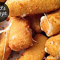 Sticks de mozzarella facile