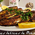 Harengs frits à la chermoula