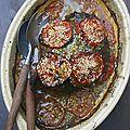 Épaule d'agneau rôtie à la tomate et huile d'argan