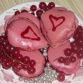 Macarons de la saint-valentin