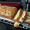 Recette facile : le cake d'été (jambon olives) - tuto photo