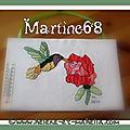 Le colibri de martine68, 15e inscrite