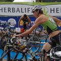 L'envolée du triathlon et de team herbalife