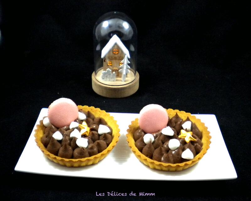 Tartelettes sablées au chocolat 3
