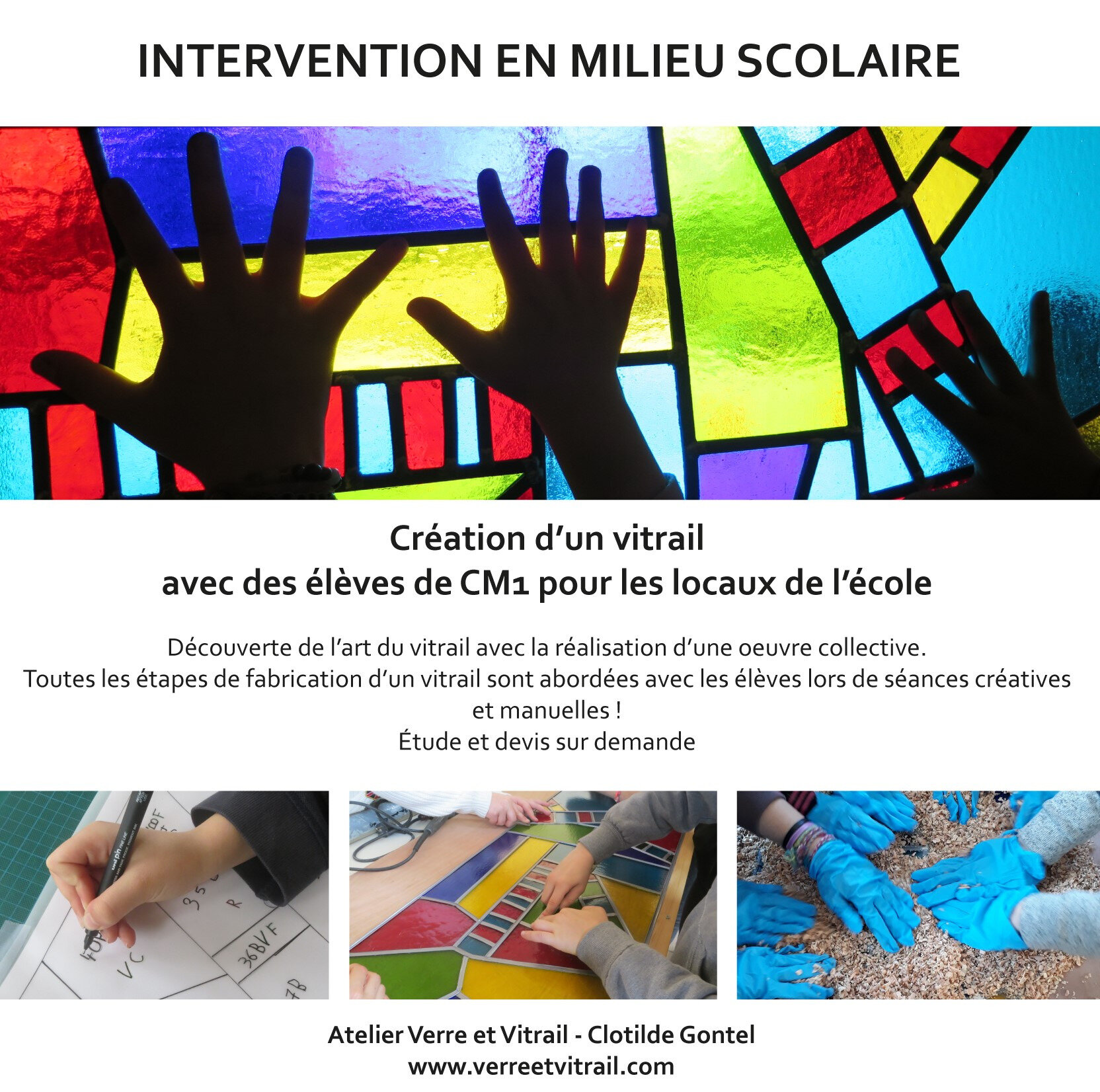 Intervention milieu scolaire