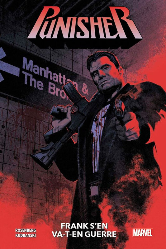 100% Marvel Punisher (2019) par Rosenberg et Kudranski