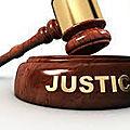 Calmé de façons générale et mystique les soulèvement publics ou les problème de la justice