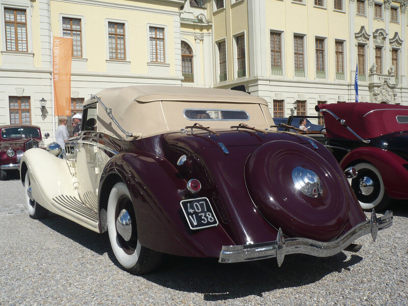DELAGE type D8-120 cabriolet Chapron 1936 Ludwigsburg (2)