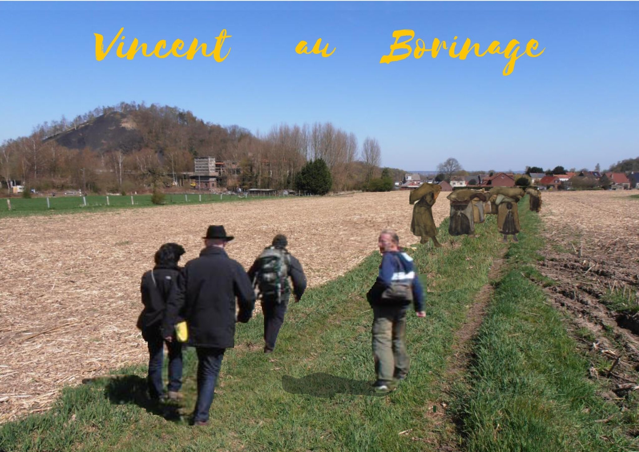 Vincent Van Gogh au Borinage 2019 : Promenades guidées / Guided walks / Geleide wandelingen