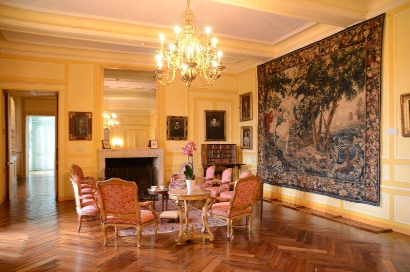 Villandry : intérieur du château