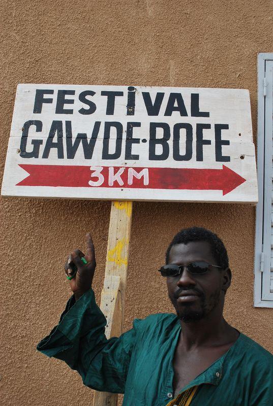 Abu Ndiadé fier du festival Gawdé Bofé