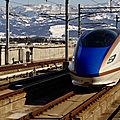 Hokuriku Shinkansen E7, Jôestu-Myôkô station.