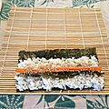 Cours de sushi à l'association bodhizen