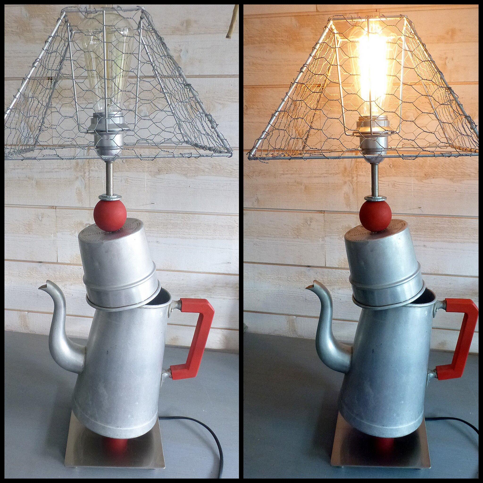lampe LA BOUILLOIRE DÉJANTÉE