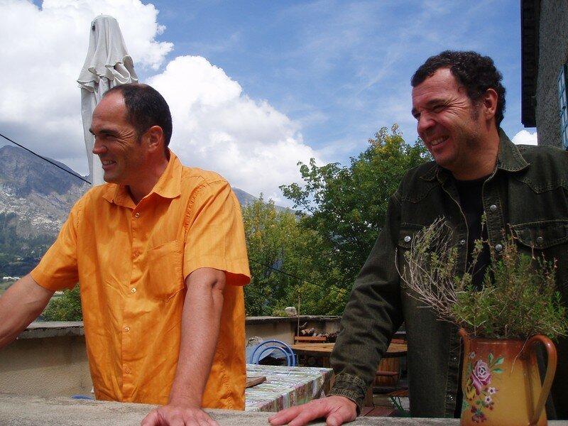 Ronan et Hervé (Champsaur, août 2006)