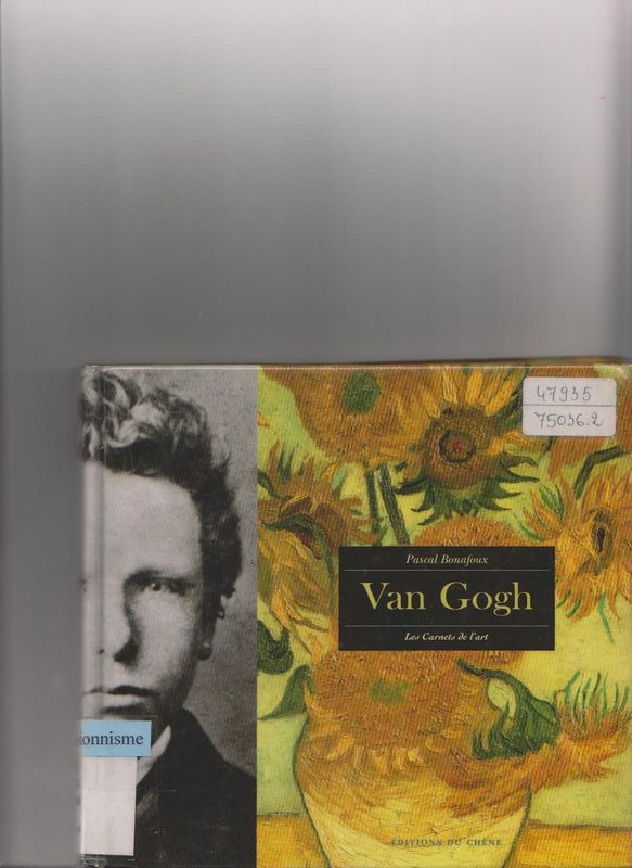 Van Gogh - Carnets d'art - Bonafout