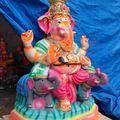 Ganesh chathurti. Fête du fluo