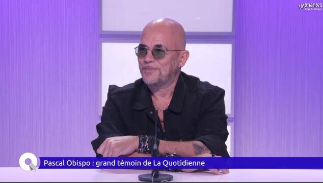 Pascal Obispo invité de la Quotidienne sur TéléNantes