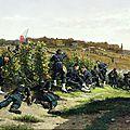 Berne-bellecour, tirailleurs de la Seine à la Malmaison (1875)