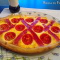 Tarte aux tomates cerises à la ricotta