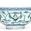 A rare doucai bowl, Mark and period of Wanli (1573-1619)