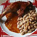 Cuisses de canard au sirop d'érable