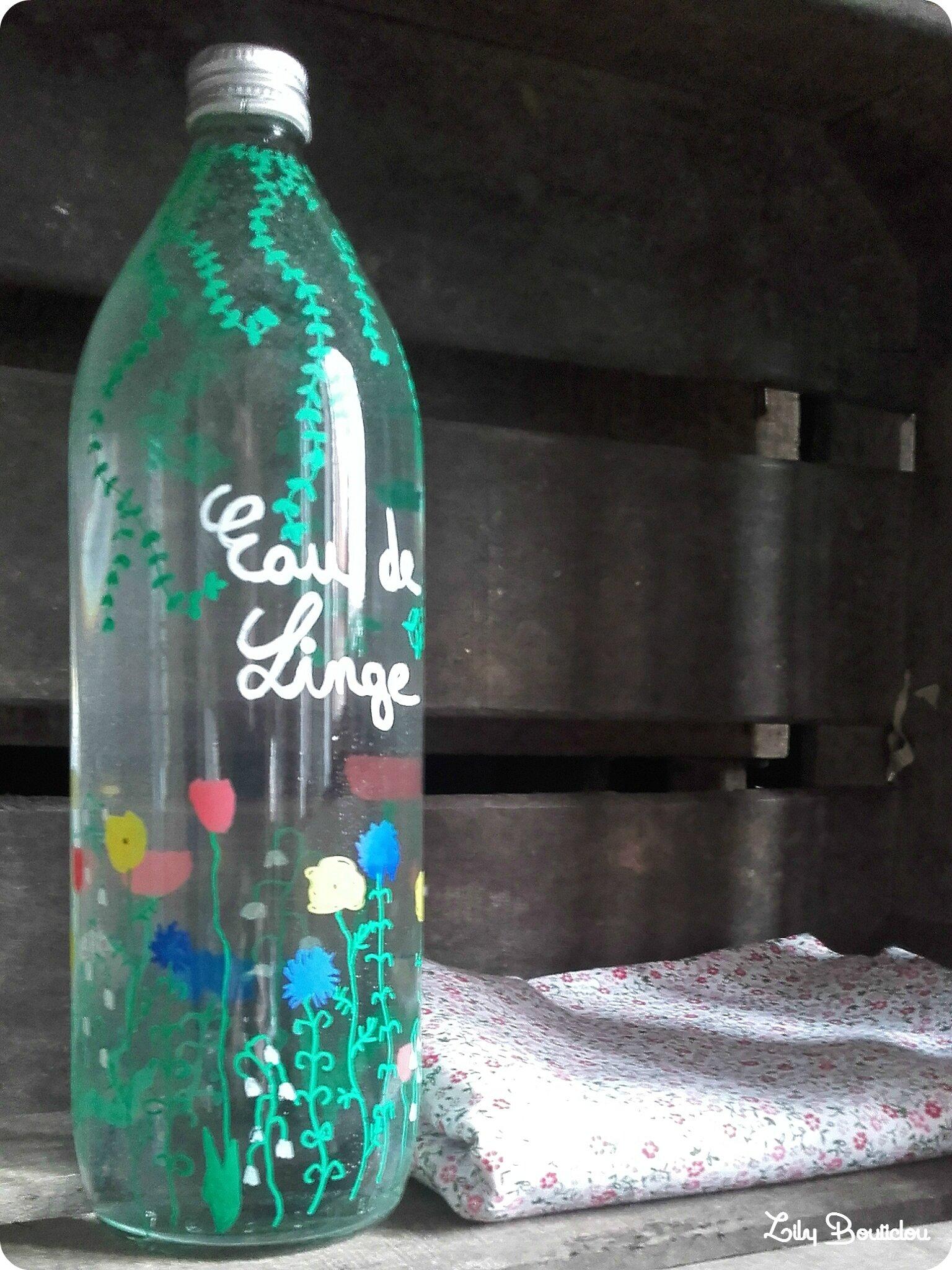 eau de linge recup diy lilybouticlou
