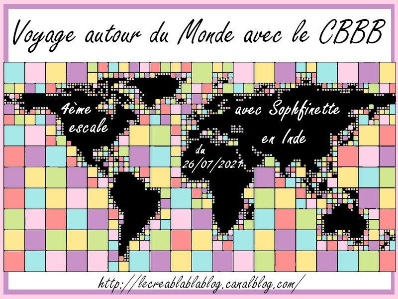 TOUR DU MONDE CBBB 2021 - Sophfinette - Inde
