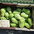 Les légumes de la réunion