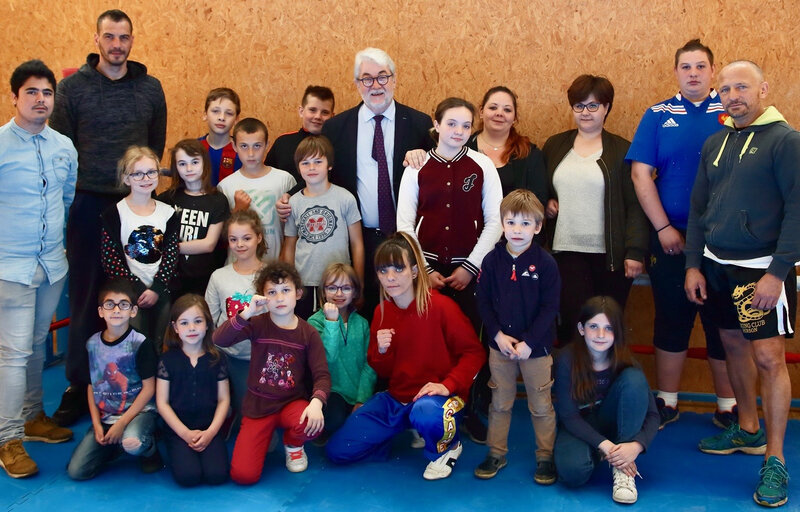 POWER BOXING CLUB INITIATION CSAC 2018 groupe