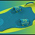 Planche nautique multisports - zup board - overton's