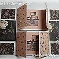 Scrap en kit : mini album en boite