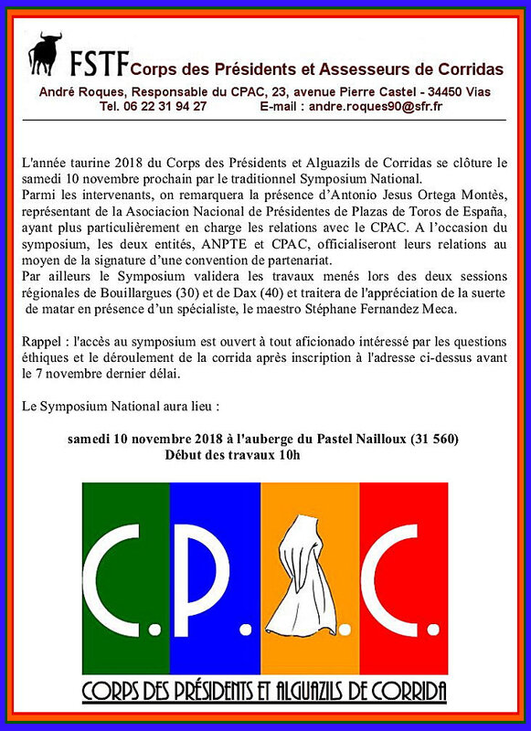 FSTF CPAC Symposium 2018 annonce 2