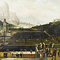 Bonhams to sell old master painting by lucas gassel that shows importance of tennis
