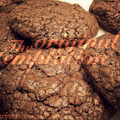 The most outrageous dark chocolate cookies