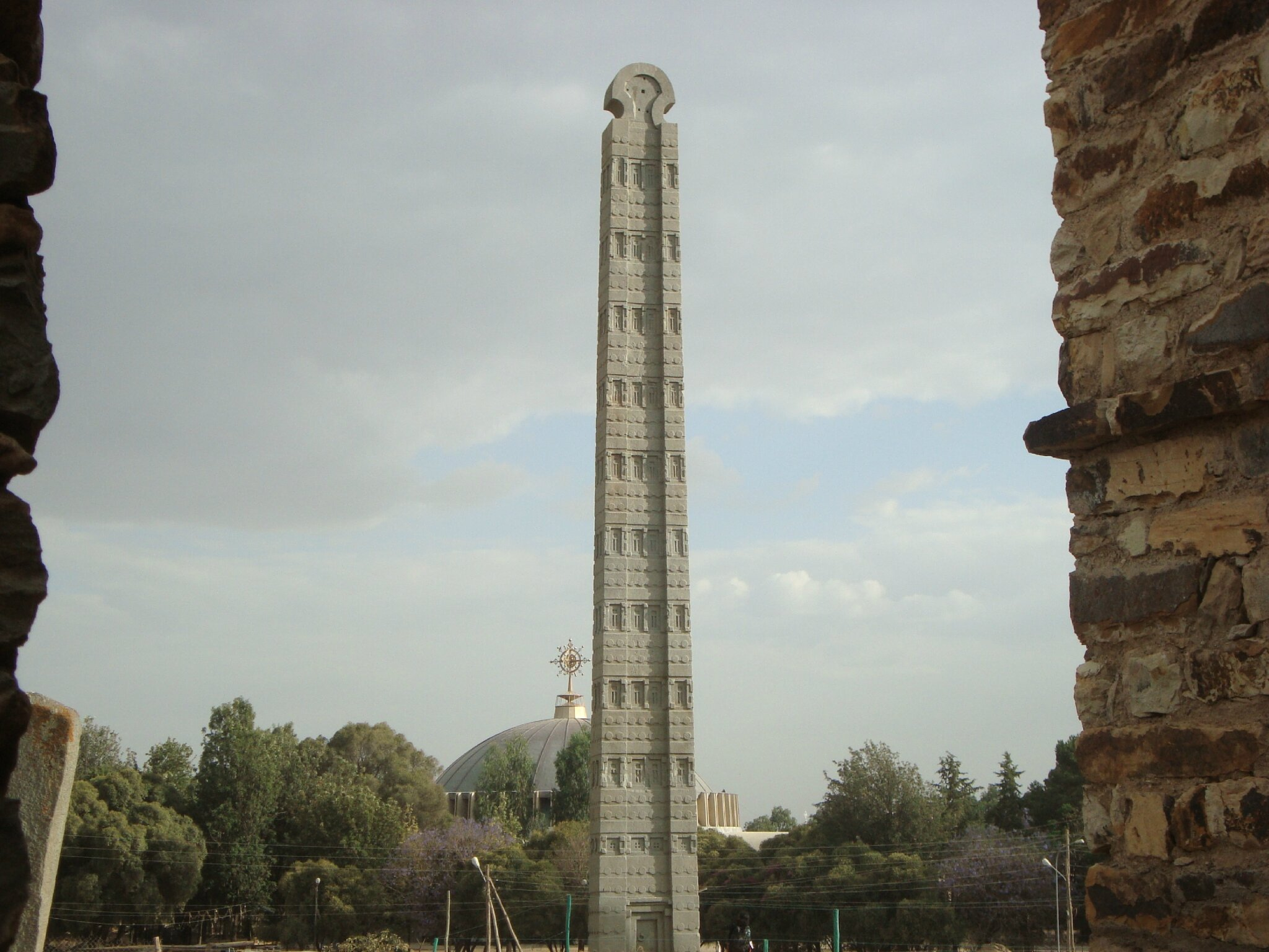axum stel the biggest monolothic stele in the world