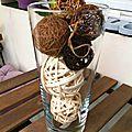 Vases et coupes pour fleurs et déco diverses