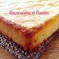 Gâteau léger très citronné