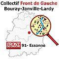 Fusion des communes de bouray sur juine, janville sur juine, lardy et torfou