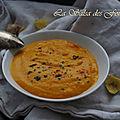 Soupe de potiron a la mangue et aux epices