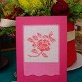 085 - Rose carte - Chris