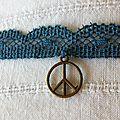 BRACELET DENTELLE A NOUER PEACE _1
