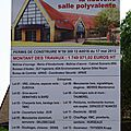 0585 - 06.09.2013 - Pose 1ère pierre salle polyvalente