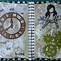 Art journal - le temps...