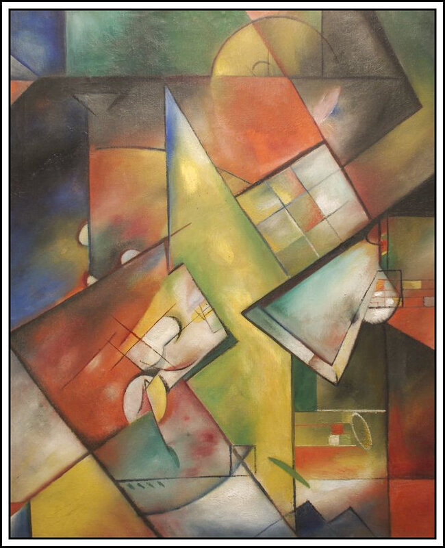 Georg Muche - Composition - 1918