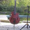 Un violoncelle éléctrique ? Non une basse !
