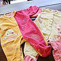 Lot pyjamas 3 (2€)